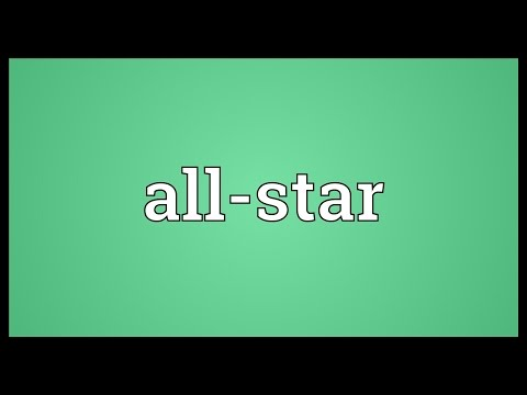 All-star Meaning