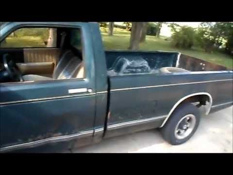 hqdefault 1987 chevy s10 long bed pickup truck youtube  at n-0.co