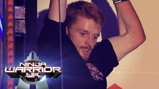 Segar lights up | Ninja Warrior UK
