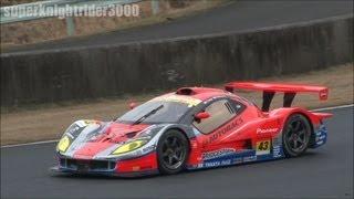 スーパーGT 2012 ARTA Garaiya #43 公式テスト 岡山国際サーキット 2012.3.18