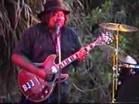Big Jack Johnson - Blues Guitarist  - Live Video Performance