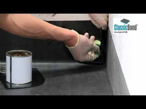 Rubber Roof Internal Corner - EPDM Installation Guides and ...