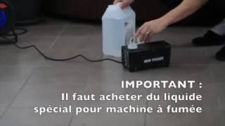 Machine à Fumée,Crenova FM 02 400W Machine à Fumée Télécommande Pour Les Mariages, Les Fêtes, Les T