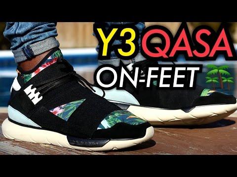 """""""Floral"""" Y3 Qasa High W/ On-Feet Review"""