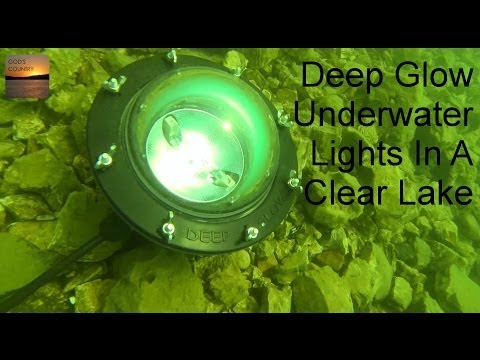 deep glow underwater lights in a clear lake - bass feeding - youtube, Reel Combo