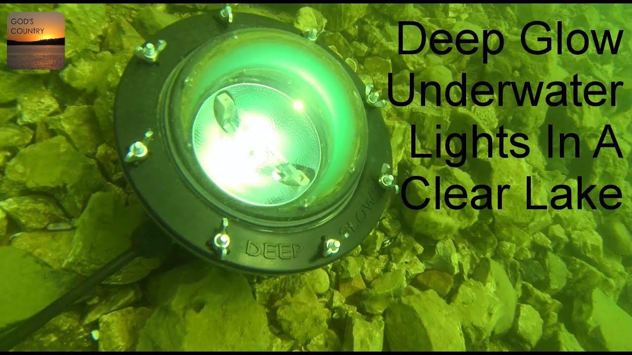 deep glow underwater lights in a clear lake - bass feeding - youtube, Reel Combo