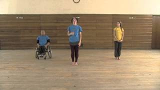 Stopgap Dance Company Replay (inclusive dance class for disabled people) Inclusive Yoga