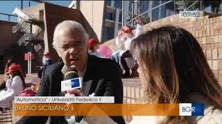 Prof. Bruno Siciliano @ Futuro Remoto 2018, Opening Event - RAI3 TGR Buongiorno Regione - 9 Nov 2018