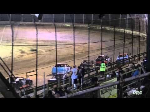 #NBTF | Moler Raceway Park | 8.28.15 | The DRC Crazy Compacts | Feature | Lap 1