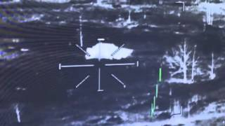 Apache helicopter rocket direct hit on enemy vehicle!