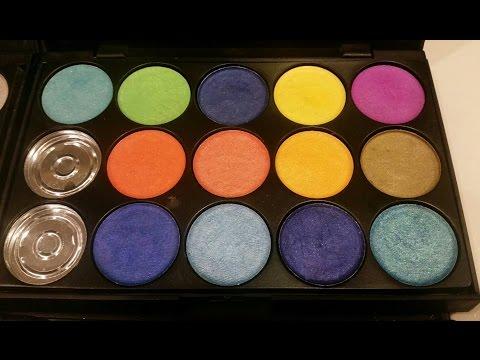 Making Spring/Summer/Vivid Color Handpressed Mineral Eyeshadow