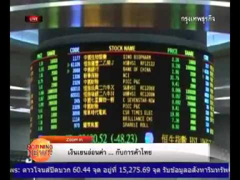 เงินเยนอ่อนค่า...กับการค้าไทย