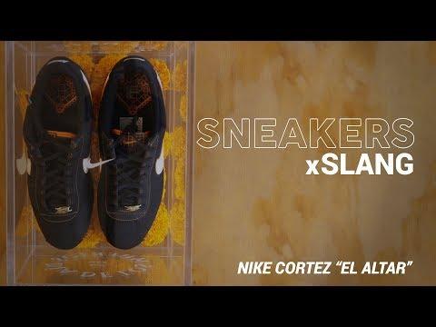 "Sneakers x Slang: Nike Cortez ""El Altar"" | Slang"