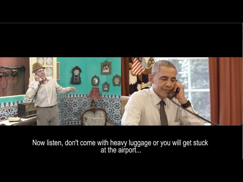 Obama Jokes With Famous Cuban Comedian Luis Silvia