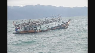【HTBニュース】北朝鮮から?道内に木造船相次ぎ漂着