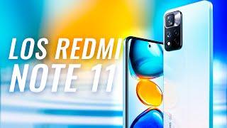 XIAOMI LANZÓ 3 BOMBAS!!! Redmi Note 11 Series OFICIAL 🚀