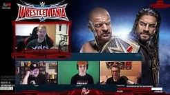 WWE WrestleMania 32 | KICKOFF LIVESTREAM vom 03.04.2016