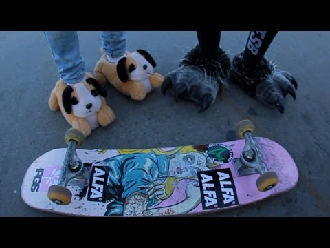 GAME DE PANTUFAS! - GAME OF SKATE!