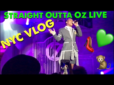 Todrick Hall - Straight Outta Oz Live - NYC Vlog