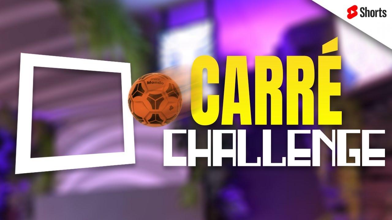 Carré Challenge 😂🟨 #Shorts