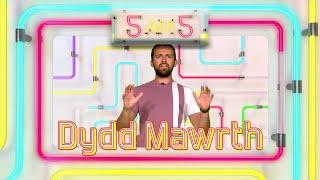 5am5 Dydd Mawrth - Cwestiynau