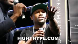 FLOYD MAYWEATHER ANNOUNCES