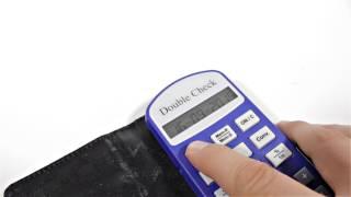 Produktvideo zu Sprechender Taschenrechner Doublecheck