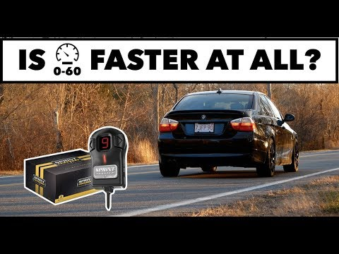 Sprint Booster 0-60MPH Test // N52 BMW