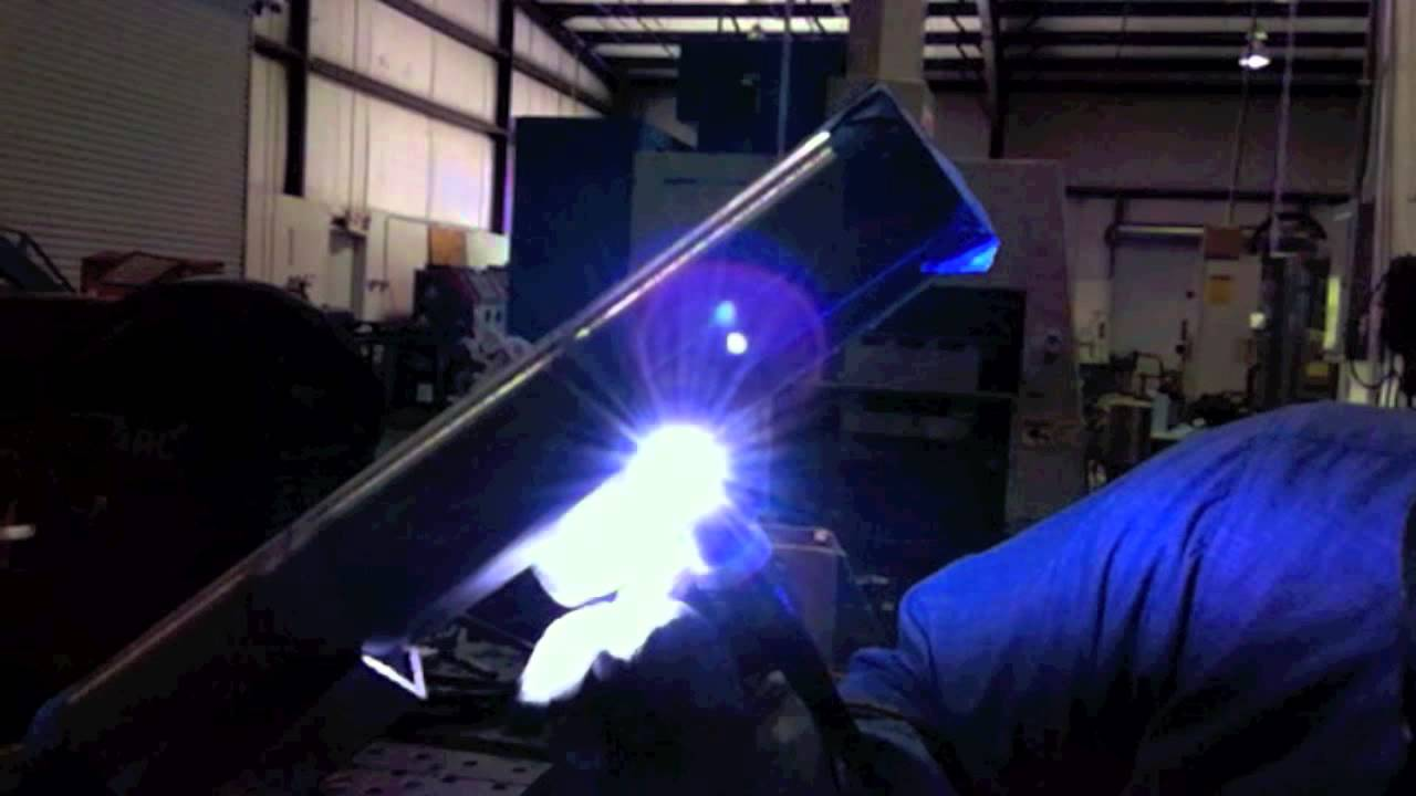 tig welding stainless steel tubing   youtube
