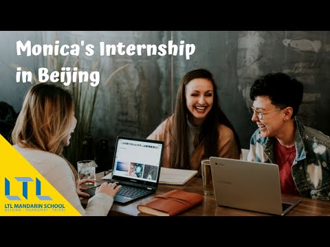 Monika's Internship Experience in Beijing, China