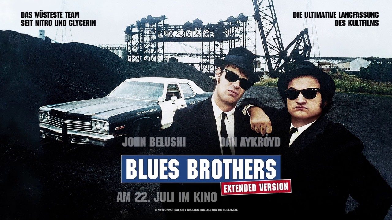 THE BLUES BROTHERS | AB 22. JULI WIEDER IM KINO