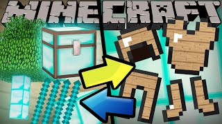One of ExplodingTNT's most viewed videos: If Diamonds and Wood Switched Places - Minecraft
