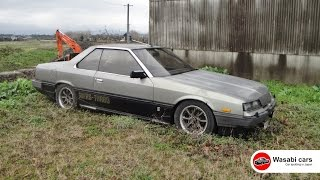 Revisited: An abandoned DR30 RS-Turbo Nissan Skyline