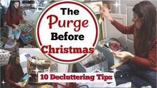 Declutter With Me Before Christmas, Home Decor & More   10 Decluttering Tips   Momma From Scratch