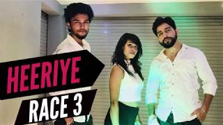 Heeriye Dance Cover By Infinite Dance Centre | Race 3 | Dance Choreography