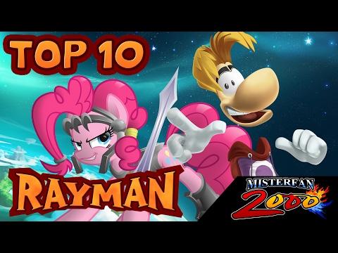 TOP 10 - Juegos Favoritos de Rayman (REMAKE)