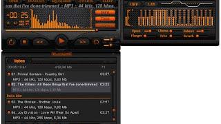 تنزيل أفضل برنامج  فتح الاغاني AIMP  و طريقة تغيير التامت  mb3 screenshot 5