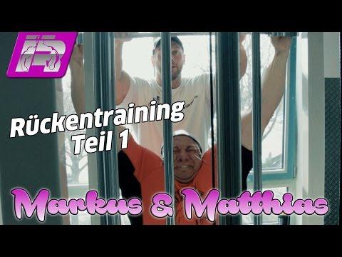 Markus & Matthias trainieren Rücken - Teil 1 (und einige Bodybuilding-Anekdoten)