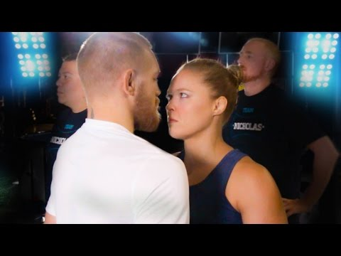 Conor McGregor Vs Ronda Rousey - The Finisher Challenge!