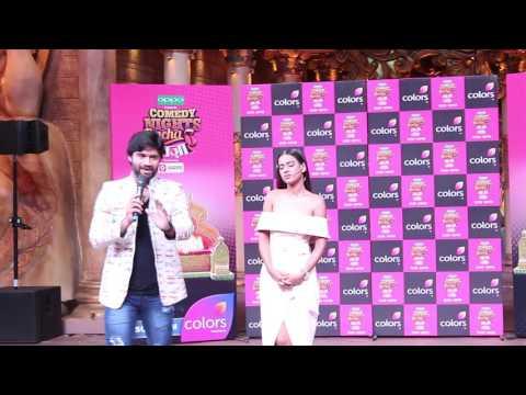 Nia, Ssharad Malhotra & Ssumier   Comedy Nights Bachaoo Taza Premier