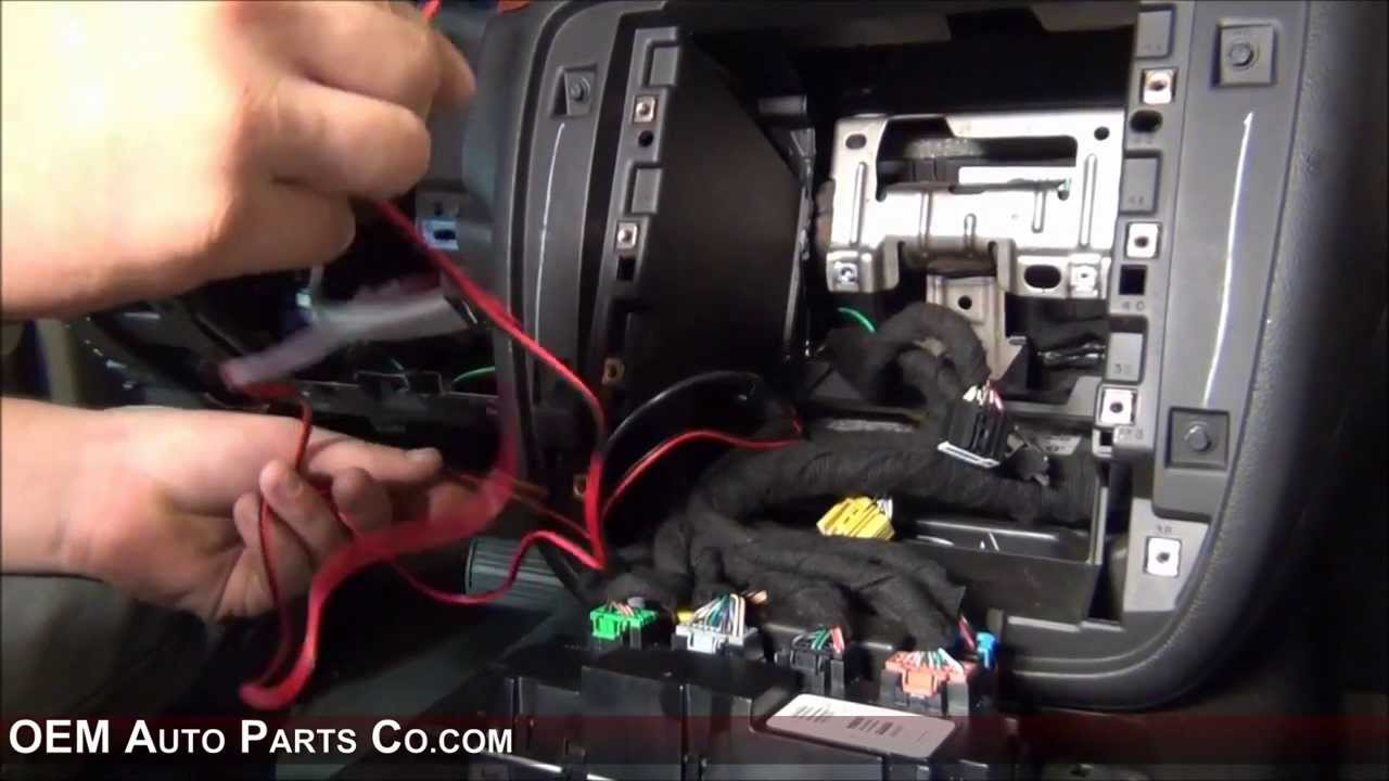 20072019 GMC Chevrolet Rear View Backup Camera Installation  YouTube