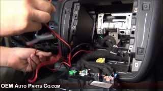 2007-2019 GMC Chevrolet Rear View Backup Camera Installation