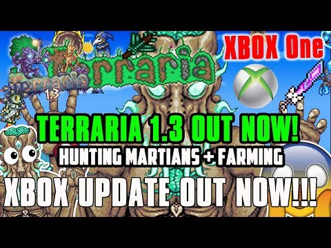 TERRARIA 1.3 CONSOLE XBOX ONE - EVENTS + HUNTING MARTIAN MADNESS
