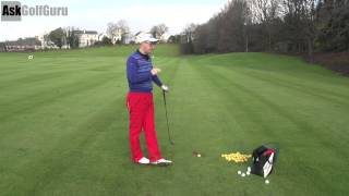 Flat Golf Swing Lesson
