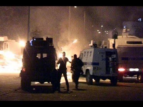Ankarada Polis Göstericiye Silahla Ateş Ediyor