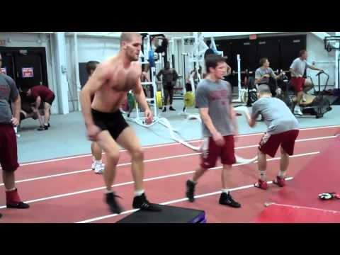 Nebraska Wrestling Preseason Workout Video