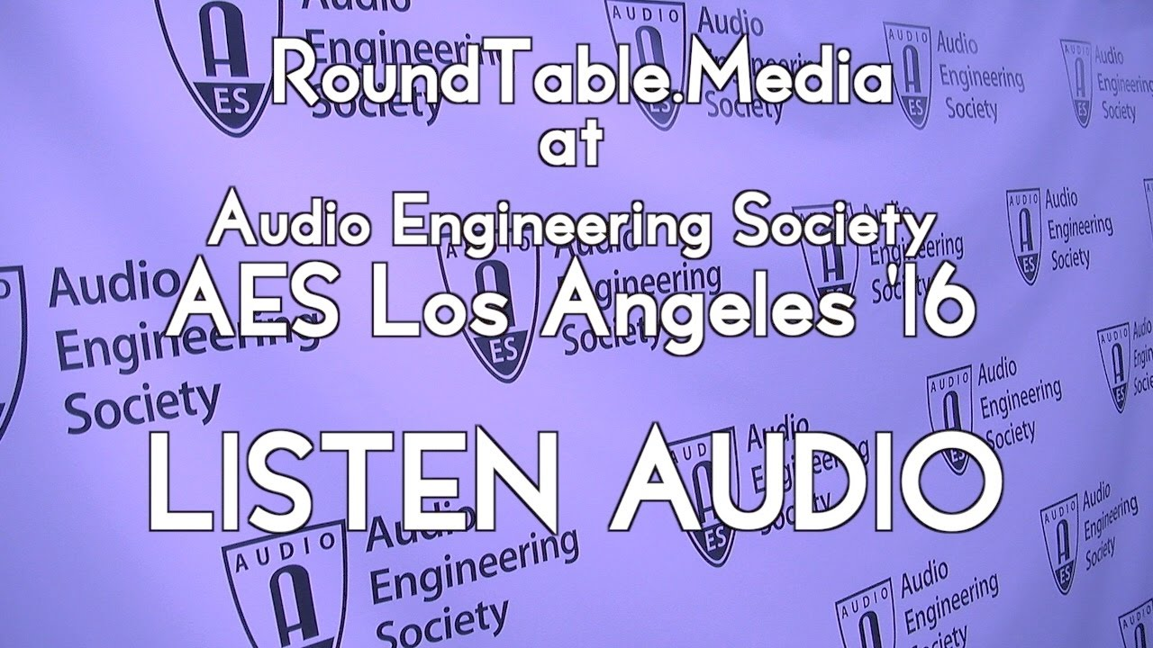 AES '16 - Listen Audio's Diffuse Panel