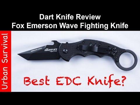 Dart Knife Review | Best EDC Knife | Fox's Doug Marcaida Fighting Knife 🔪