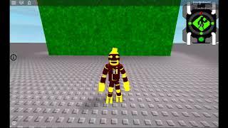 Ben 10 Simulator (ROBLOX) Transformation Concept