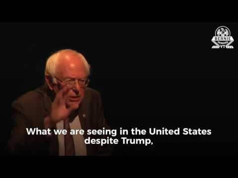[ New ]  Bernie Sanders BRILLIANT takedown of Trump's Withdrawal from the Paris Climate Agreement
